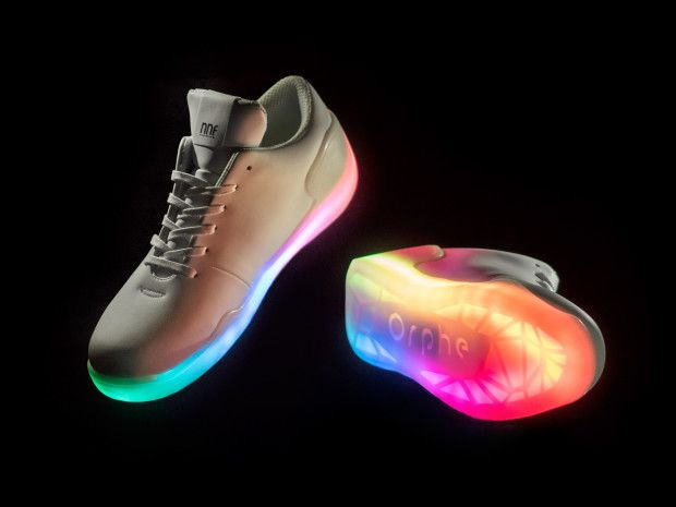 Orphe is a Smart footwear system that