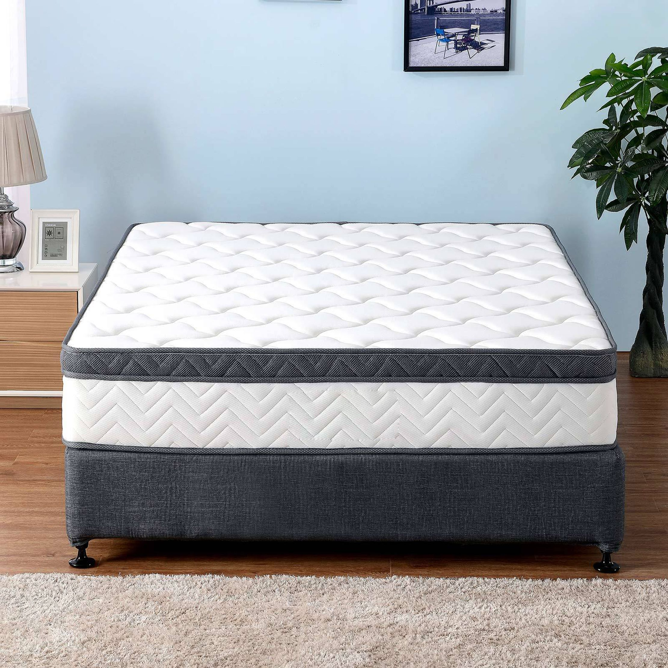 Premium Memory Foam Mattress Euro Top 29cm Thickness 7