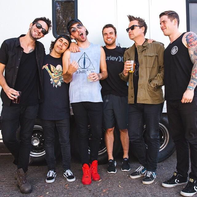 All Time Low With Vic Fuentes And Mark Hoppus At The