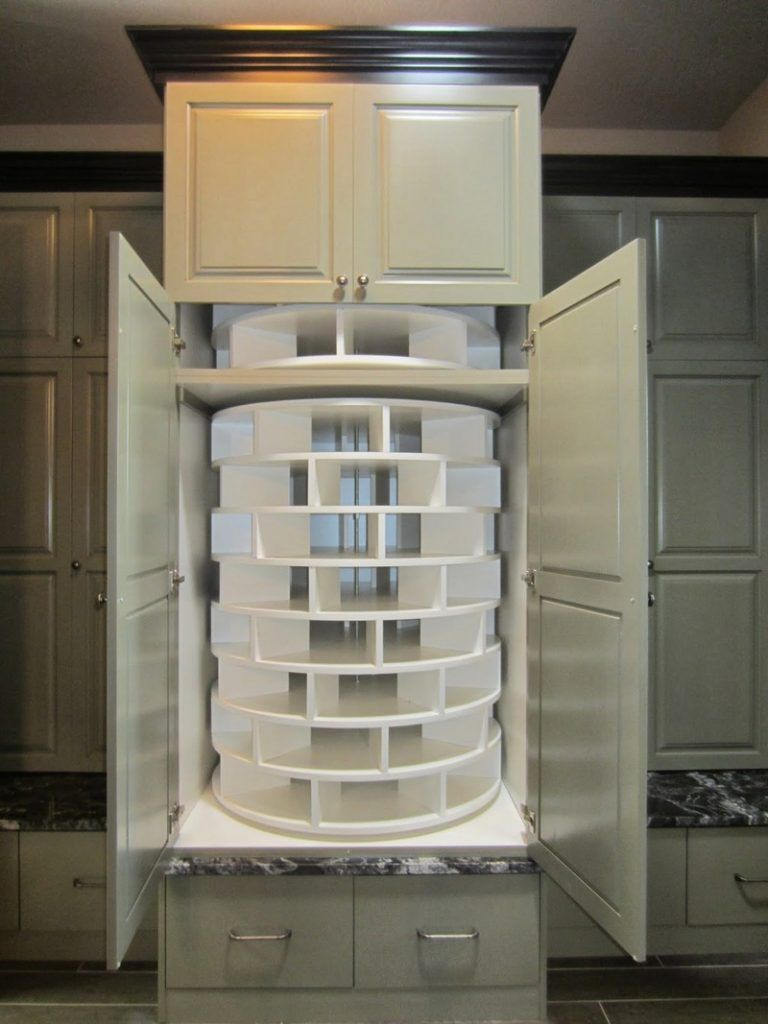 Shoe Storage - Floor to Ceiling Lazy Susan - 8 Tiers - Store 100+ Pair & Shoe Storage - Floor to Ceiling Lazy Susan - 8 Tiers - Store 100+ ...