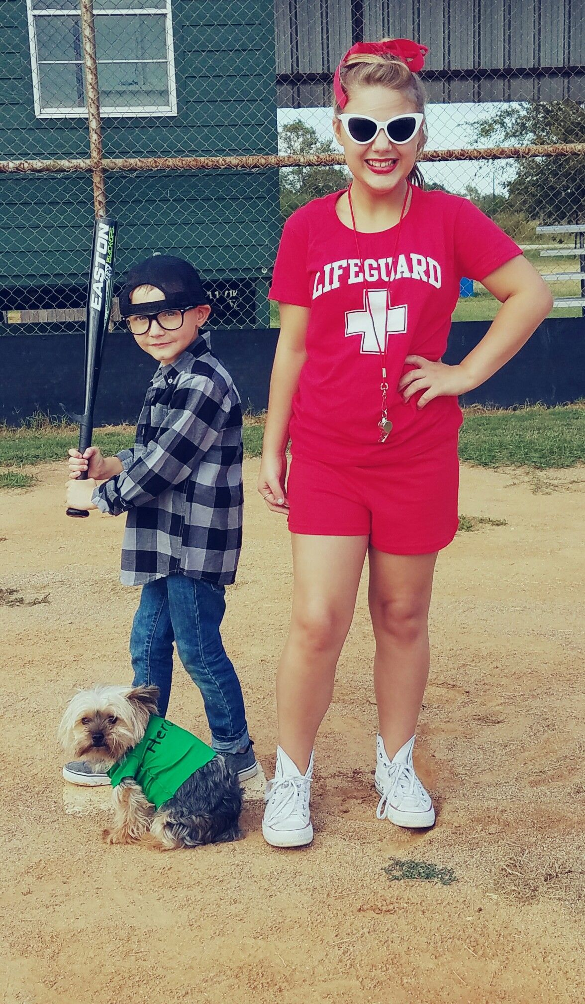 The Sandlot costume Squints Wendy u0026 Hercules  sc 1 st  Pinterest & The Sandlot costume Squints Wendy u0026 Hercules | costumes | Pinterest ...