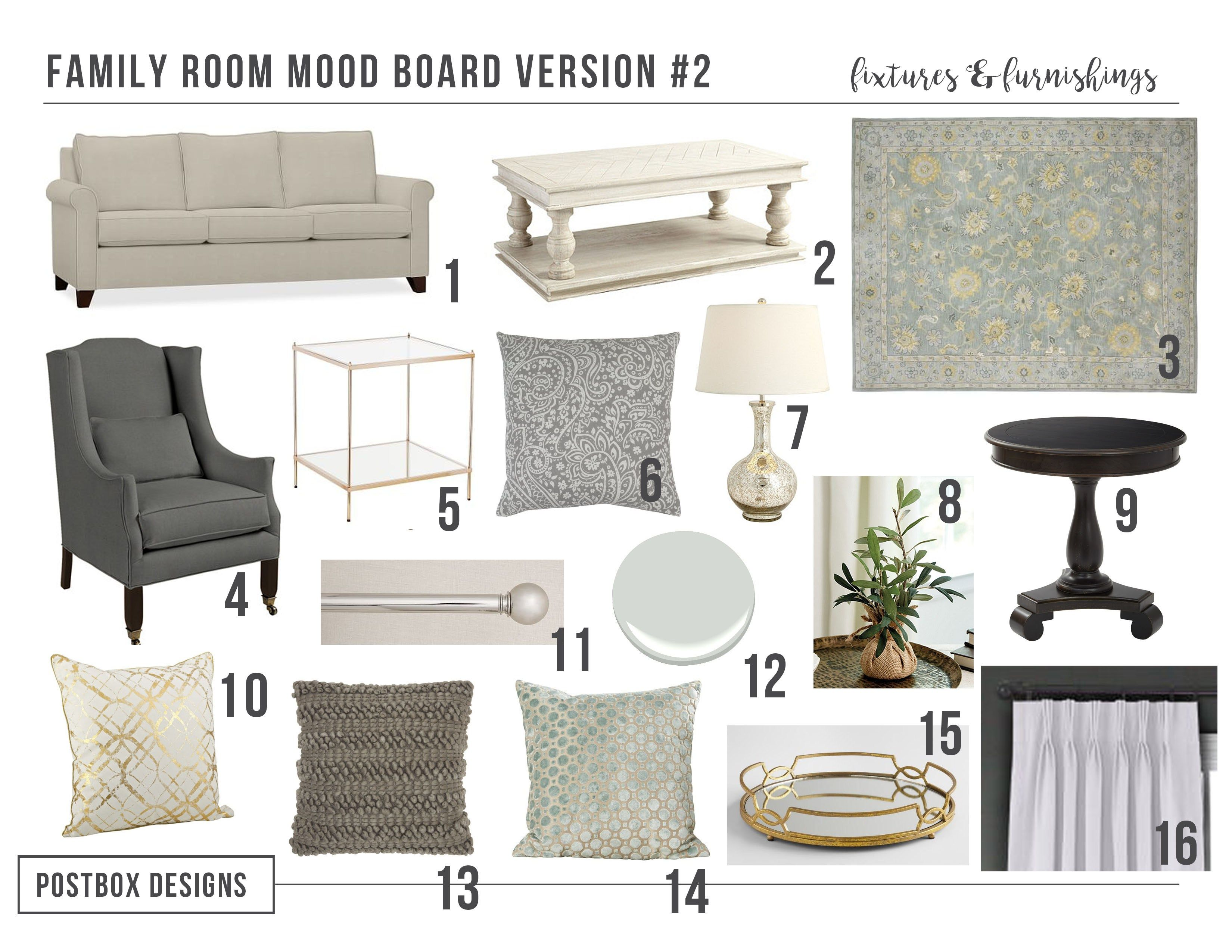 Room Reveal! 5 Tips to Decorate a Family Room with High Ceilings ...