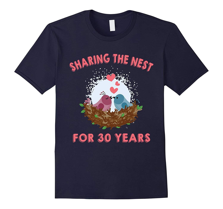 Husband & Wife TShirt. 30th Wedding Anniversary Gift