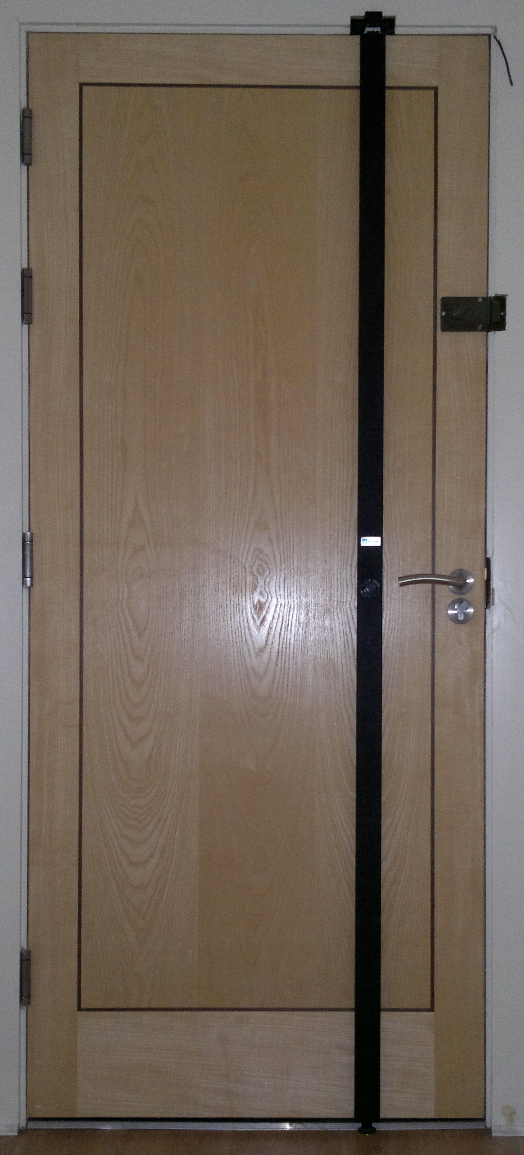 Home Front Door Security Bar