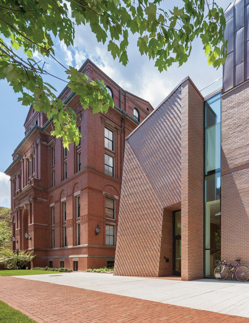 Tozzer Anthropology Building Brick Architecture Architecture