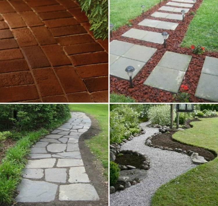 Gartenweg anlegen mit 6 verschiedenen Anleitungen (Deavita Design - gartenwege anlegen kies
