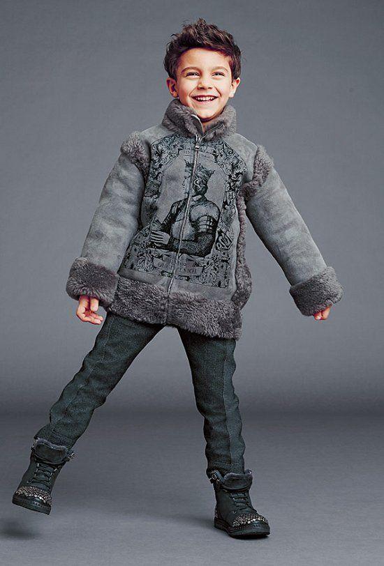 Детская одежда Dolce & Gabbana осень-зима 2014-2015 ...