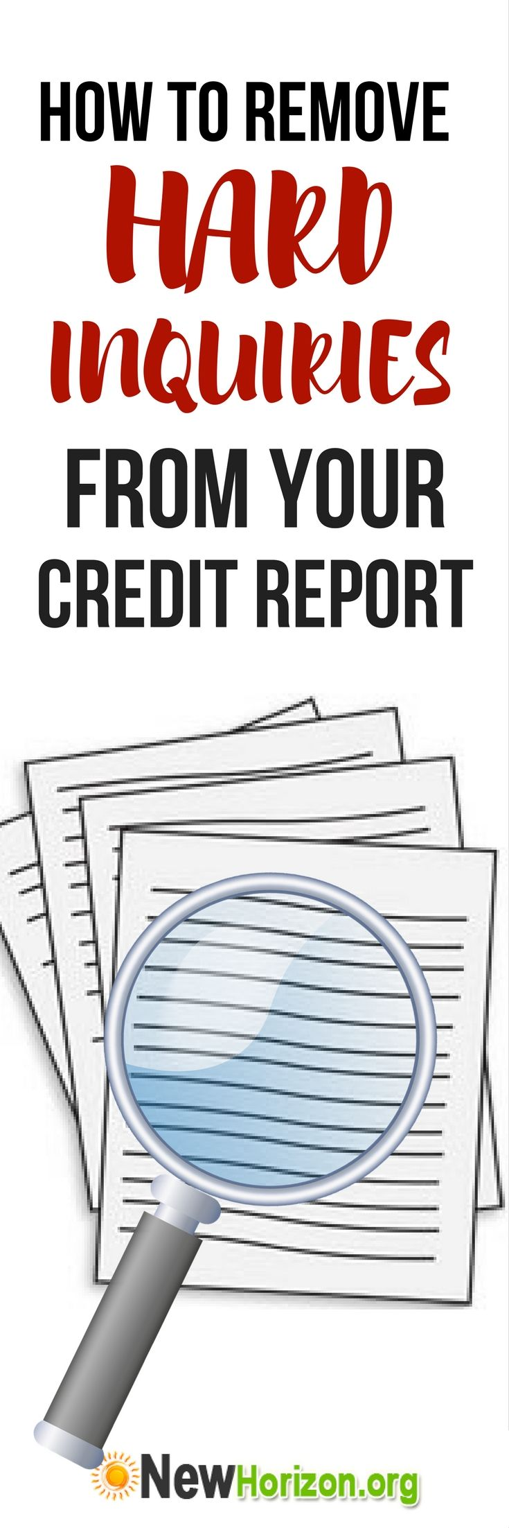 How to remove unauthorized credit inquiries from your