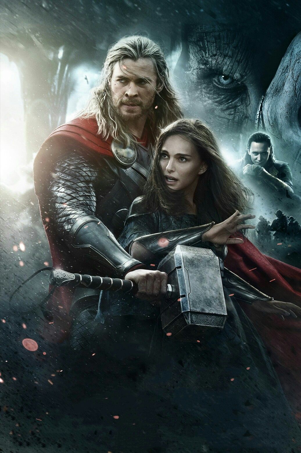 Thor The Dark World Textless Movie Poster The Dark World World Movies Watch Thor