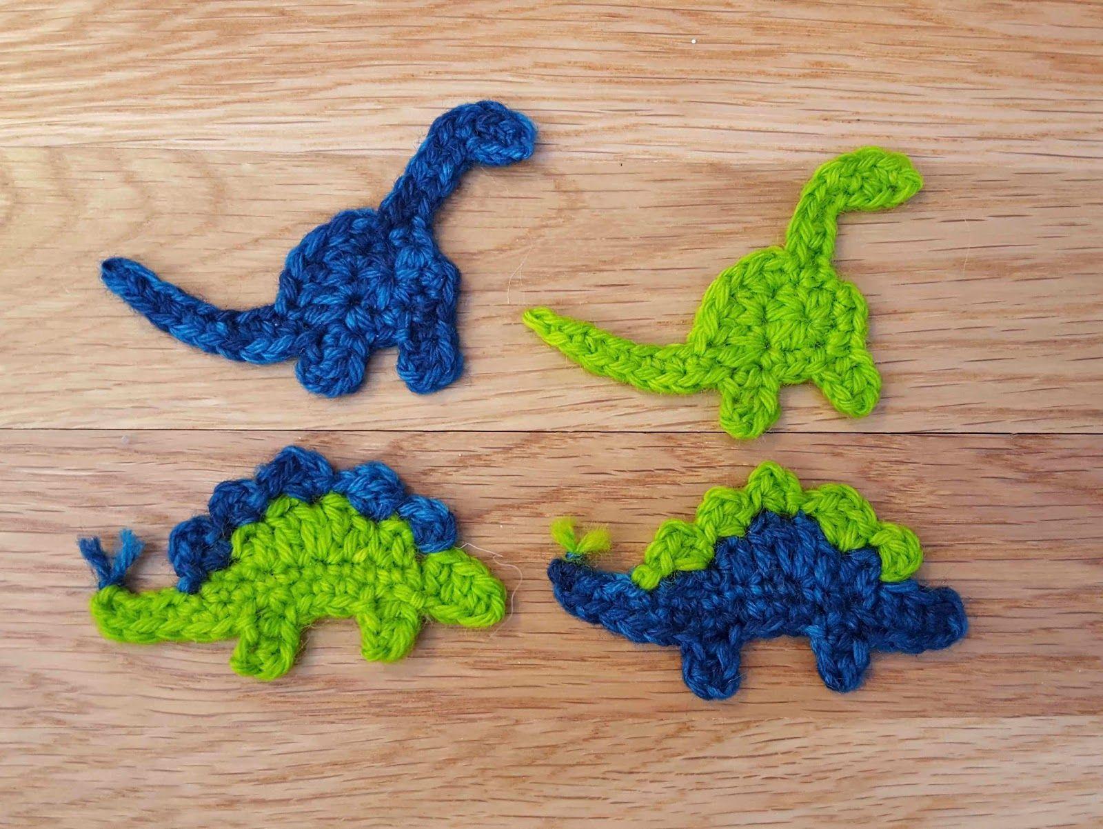 40+ Pretty Picture of Dinosaur Crochet Patterns #crochetdinosaurpatterns