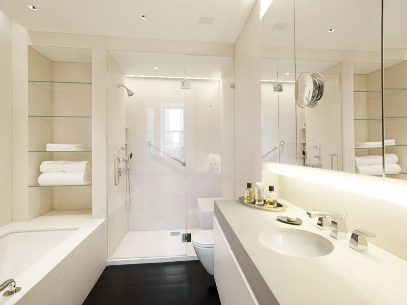 Richard Meier Designed Bathroom Sherry Netherland Hotel Nyc Interior Design Pinterest