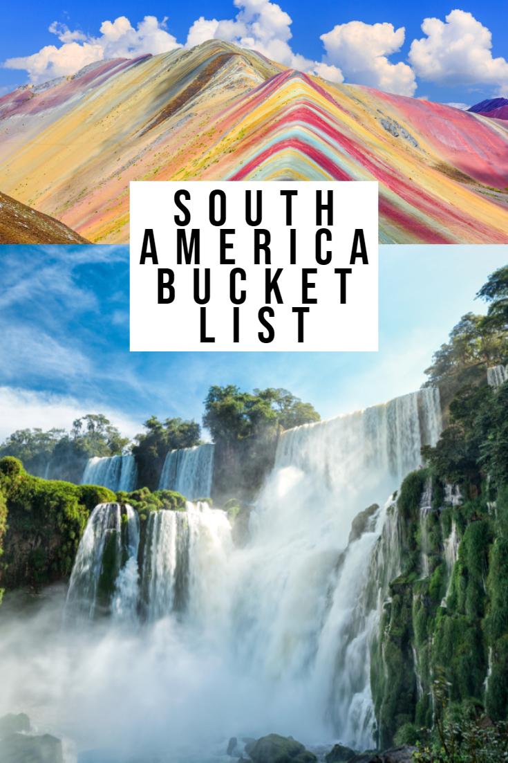 Die BESTE Südamerika Bucket List