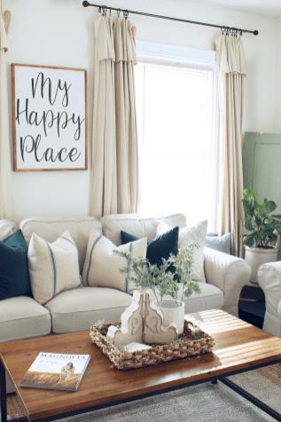 85 Best Modern Farmhouse Living Room Curtains Decor Ideas Farm