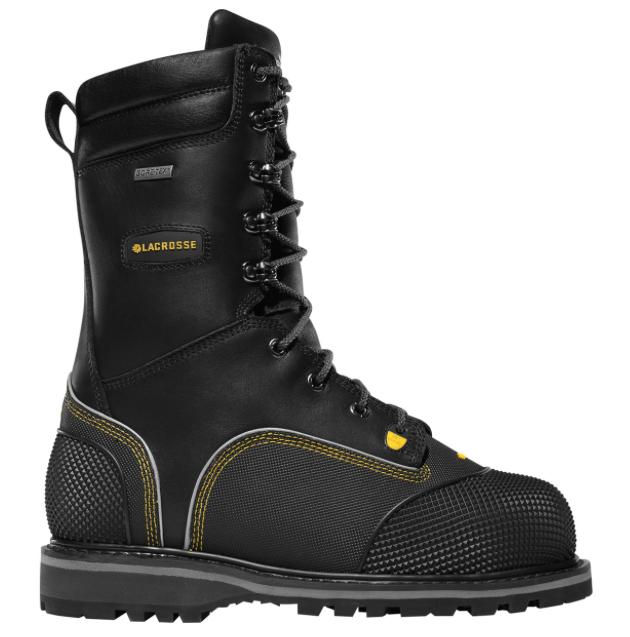 73387c32e39 LaCrosse Longwall II Miner's Boots Metatarsal Guard/Non Metallic Toe ...