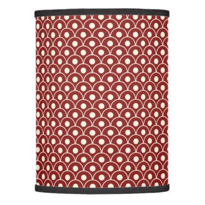 Seamless Wave Pattern Lamp Shade - patterns pattern special unique design gift idea diy