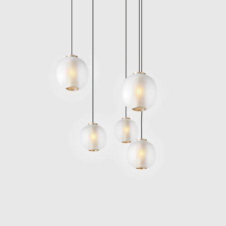 Bloom Pendant White Lighting Light Architecture Interior