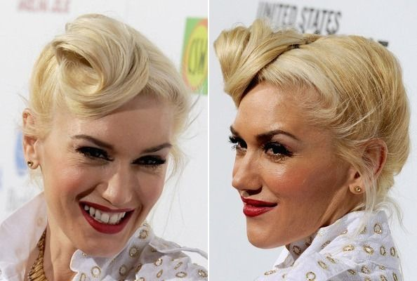 Learn the steps to get Gwen Stefani's amazing retro roll