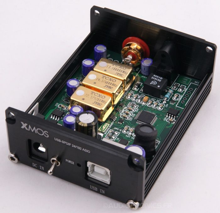 Aa Gattununtava Dsp Version: XMOS Interface Digitale USB Vers Spdif Version TCXO 24