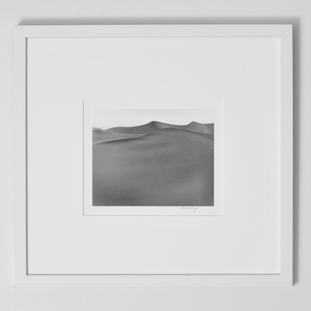Dune. Death Valley, California. Gelatin Silver Print, from 4x5 ...