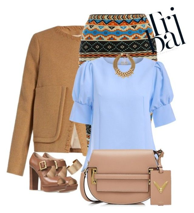 """""""Untitled #688"""" by mariacaniuca on Polyvore featuring See by Chloé, Valentino, Michael Kors and Panacea"""