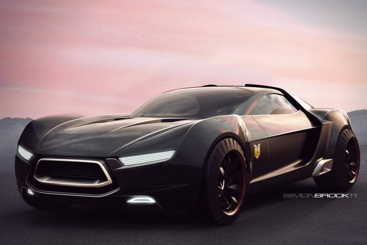 Concept Vehicle For A Modern Mad Max Concept Cars Mad Max Futuristic Cars