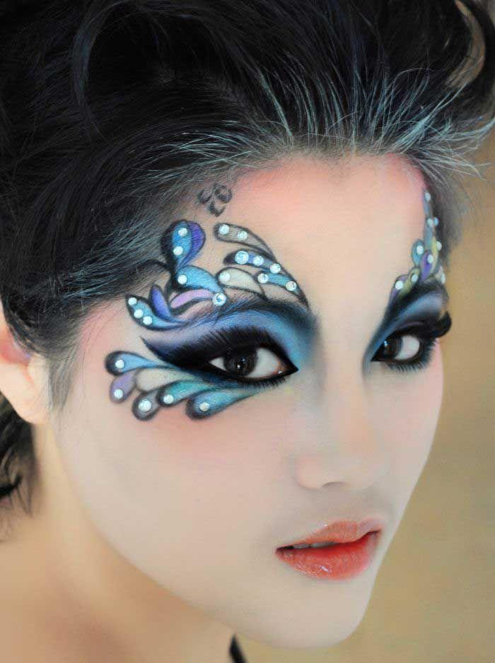серванты стиле макияж глаз аквагримом фото опубликовал