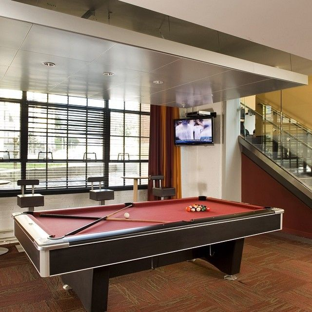 Don't drop the #ball! #gameroom #poolhall #pool #games #hamelmilllofts #haverhillma
