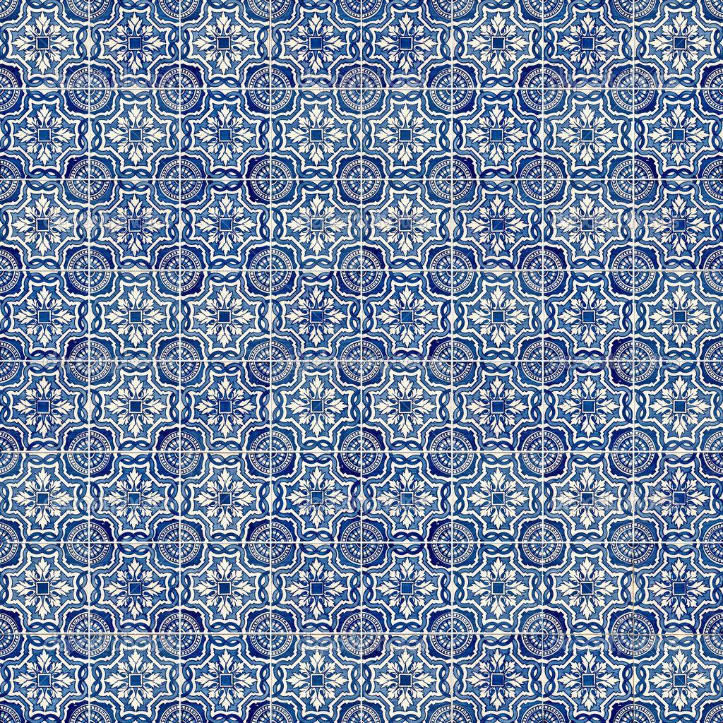 Ancient tile patterns blue google search dream of a blue print bedroom pinterest tile for Blue patterned bathroom tiles