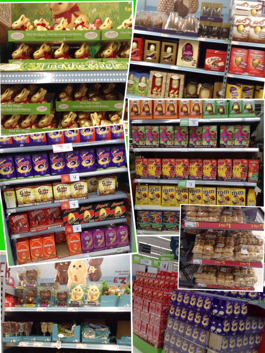 Asda Stash Of Easter Eggs Various Prices From 1 Located