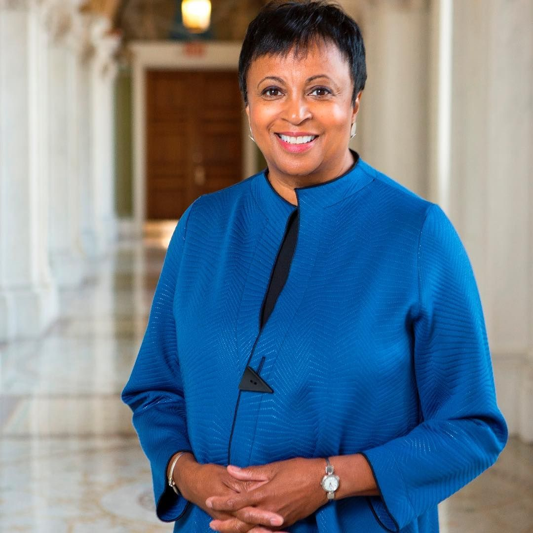 We are looking forward to Dr Carla Hayden, the