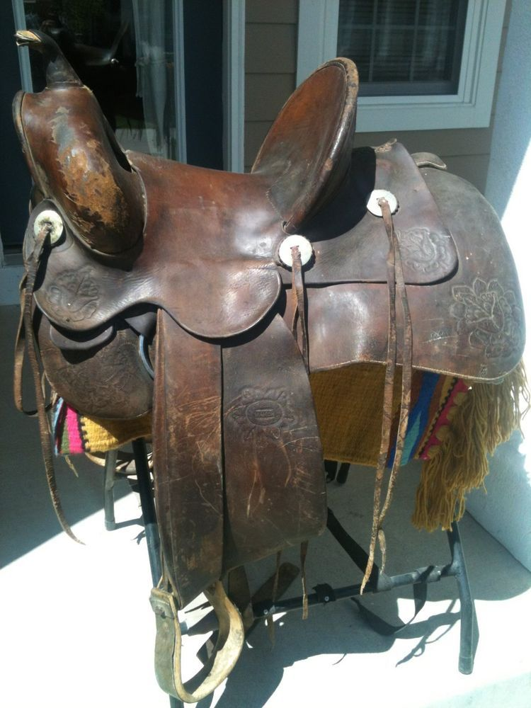 Lot Of 4 Conchos Horse Saddle Western Rodeo Bridle Berry ...