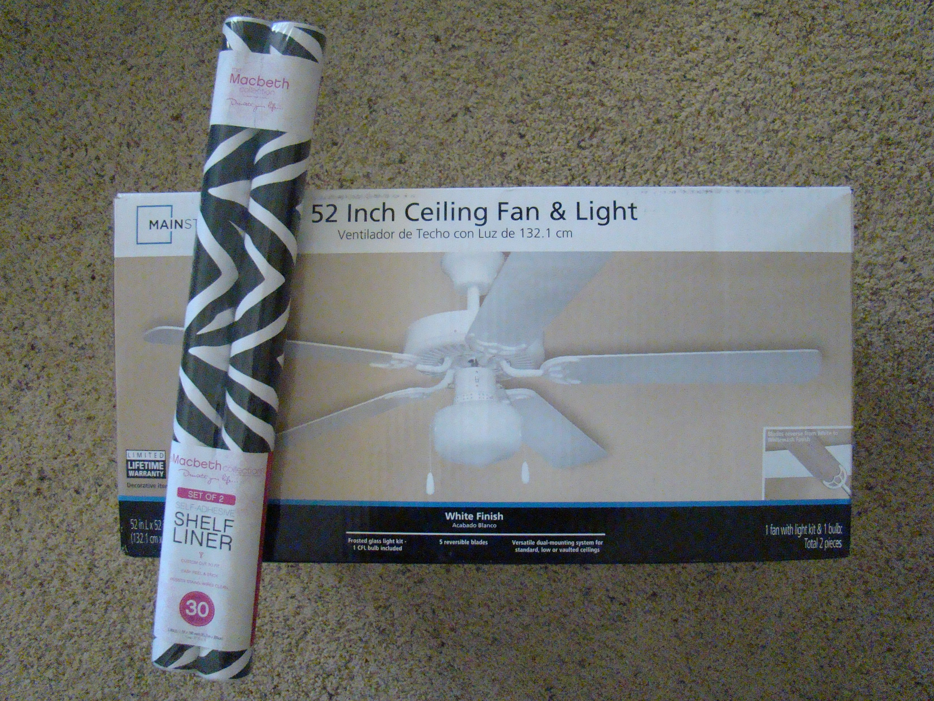 ly two Items needed to create your own Custom Ceiling Fan The