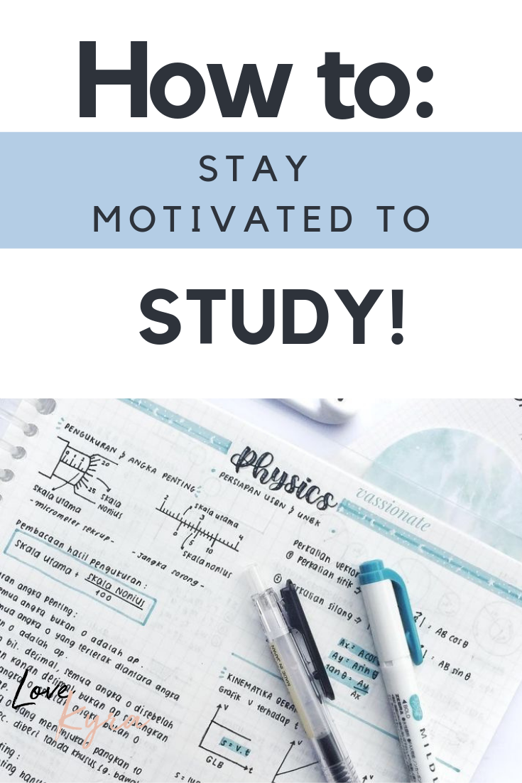 cdab0ee9e31d13e106d527efbdc4d831 - How To Get Motivated To Study For A Test
