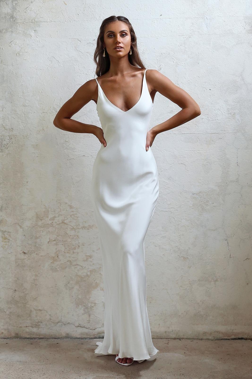 Arlo In 2019 Slip Wedding Dress Dresses Perfect