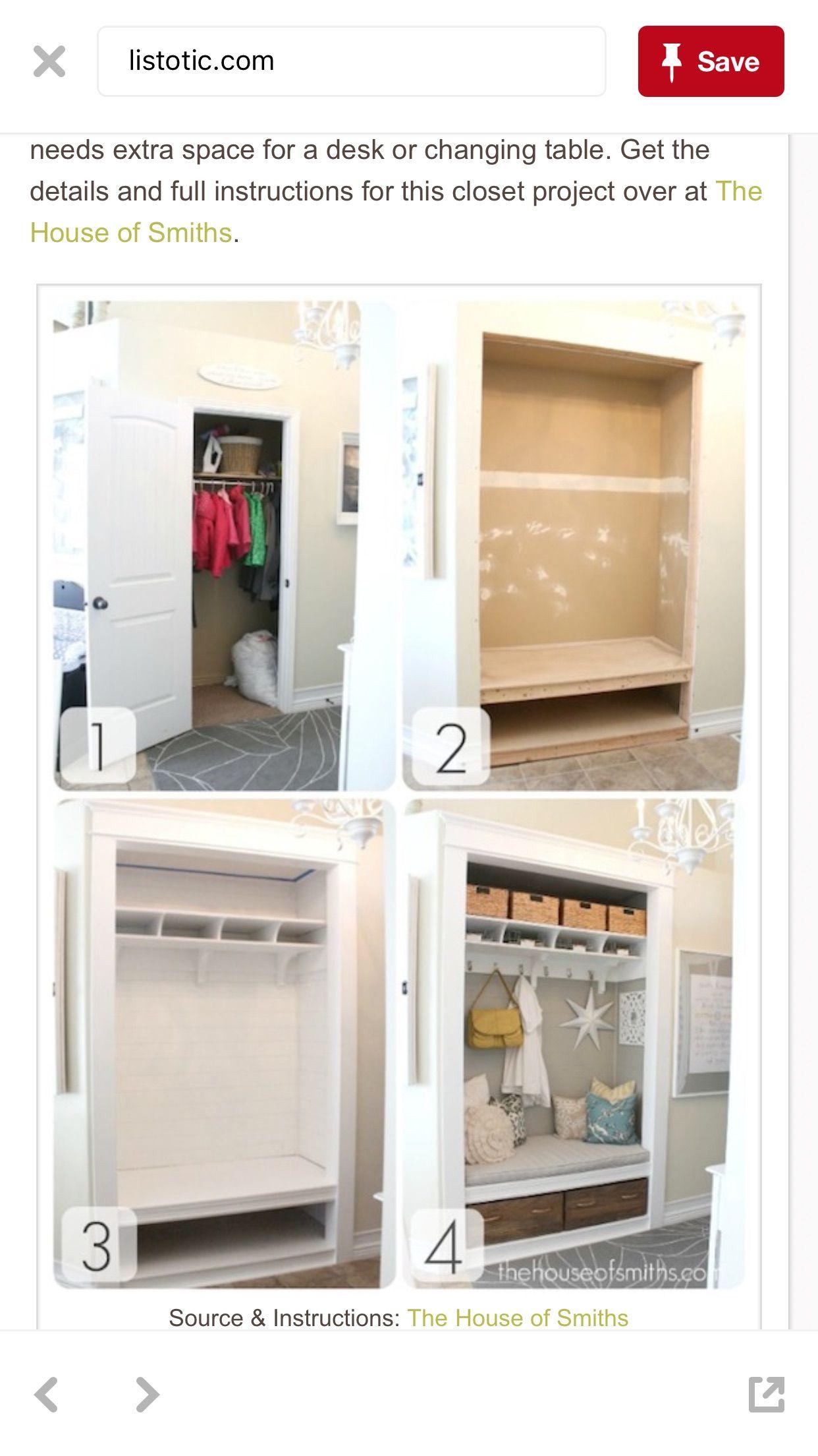 pin by deidre warner on for the home maison entr e maison rangement entr e maison. Black Bedroom Furniture Sets. Home Design Ideas