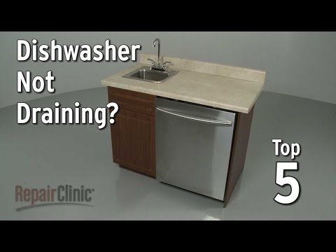 Dishwasher Not Draining Dishwasher Troubleshooting Dishwasher Leaking Dishwasher Not Draining Kitchenaid Dishwasher