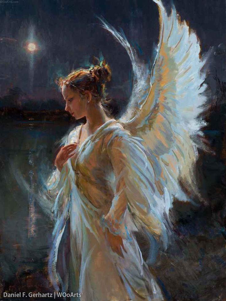 Photo of Daniel F. Gerhartz 39 Fantasy Art. #mermaids #angels #fairie …