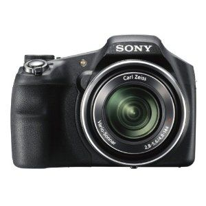 Sony Cyber-shot DSC-HX200V 18.2 MP Exmor R CMOS Digital Camera with 30x Optical Zoom and 3.0-inch LCD (Black) (2012 Model): SONY: Camera & Photo