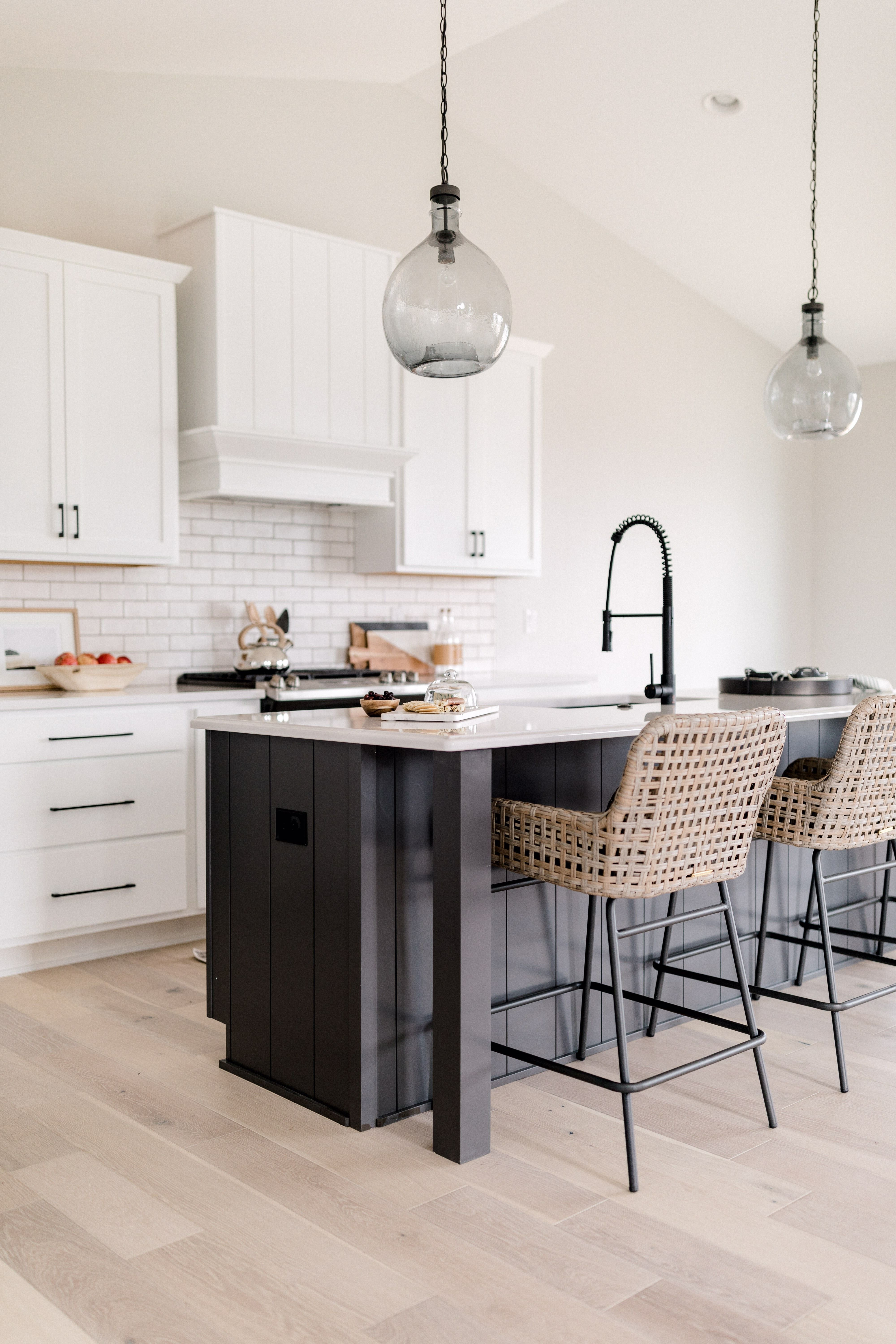 A Simple Modern Farmhouse Kitchen From Black Birch Homes Includes