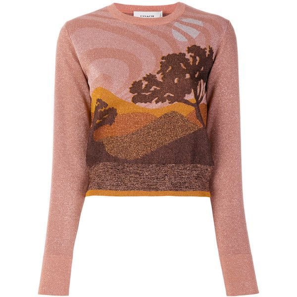 Coach Landscape sweater Discount 2018 New EqiMWH411