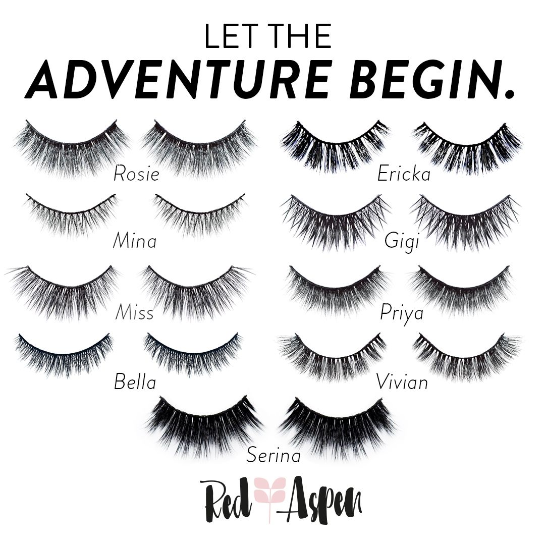 What are the best faux lashes? Red Aspen lashes! Http