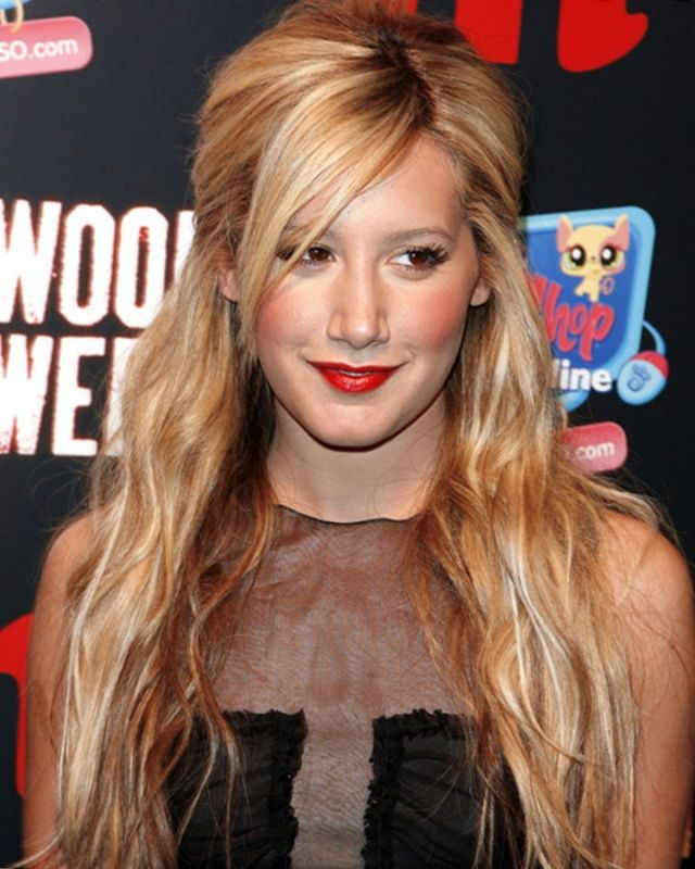 Awesome Ashley Tisdale Hairstyles 2017 With Natural Hair Color
