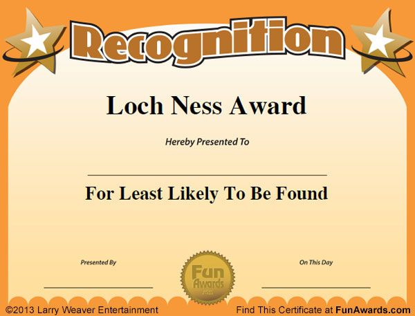 office superlatives u2026 Pinteresu2026 - best of recognition award certificate wording