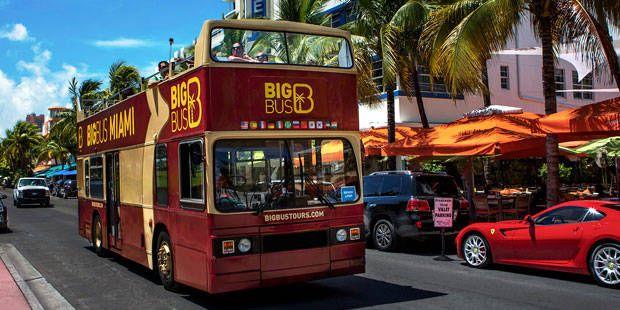 Passeio de ônibus Turístico em Miami
