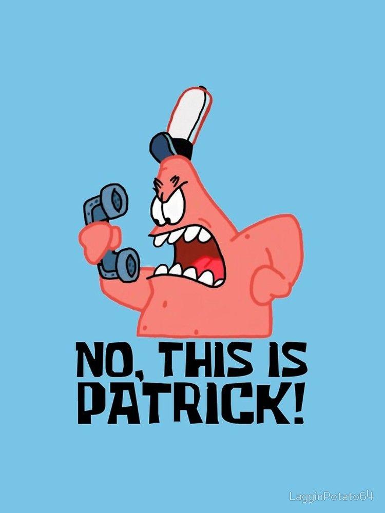 'No, This Is Patrick! Spongebob' Sticker by