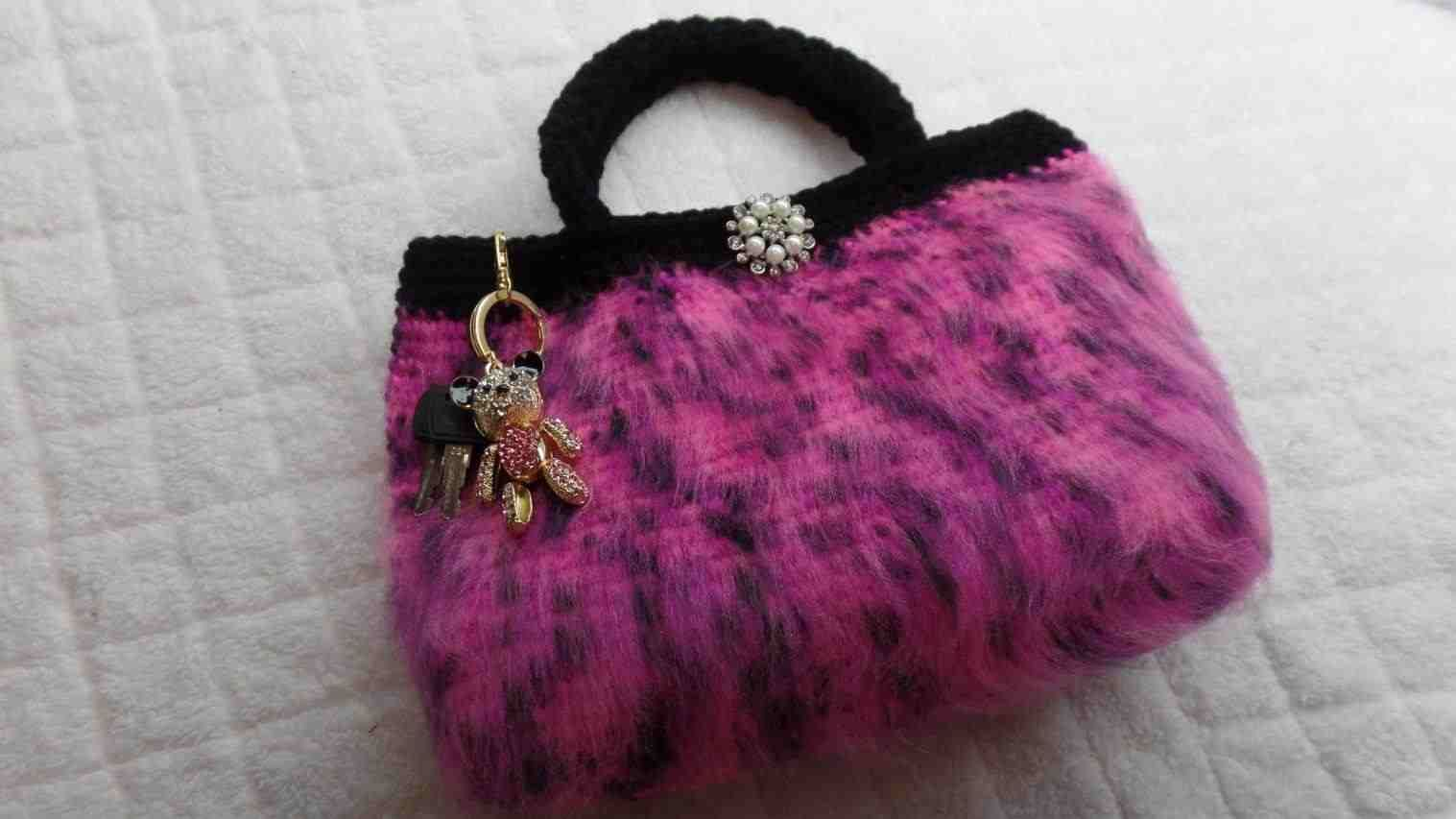 Tutorial Crochet Bag Crochet Baby Hello Kitty Purse Click Here To