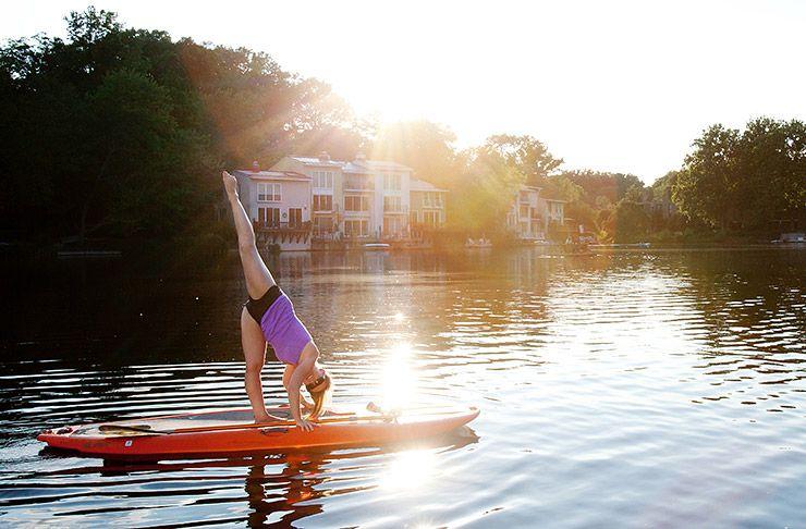 27381b99bf10 Water recreation in Reston, VA. Paddleboarding, kayaking, pontoon boats,  fun in the sun