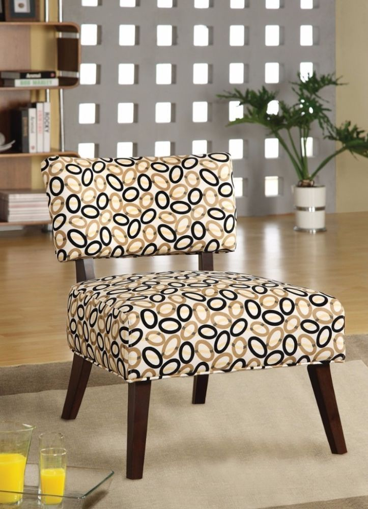 Superbe Able Fabric Upholstered Accent Chair Contemporary Living Room Furniture  #Acme