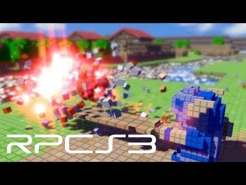 RPCS3 (PS3 emulator) - 3D Dot Game Heroes on i5-6600 [4K Rendering