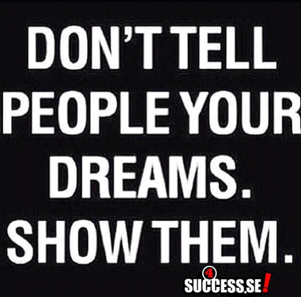 Show them...